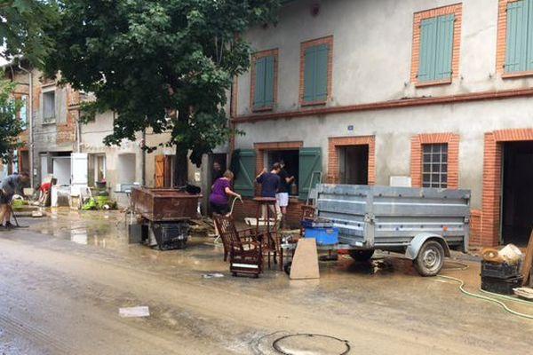 A Gaillac-Toulza 150 maisons ont été inondées.
