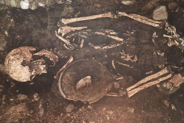 L'exposition du musée Bargoin, à Clermont-Ferrand, révèle les corps inhumés des Gaulois avec, à leurs pieds, des offrandes portant des traces de cannabis.