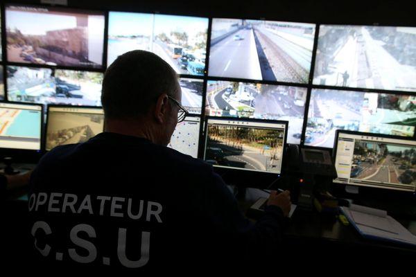 Le prisonnier a pu être arrêté grâce au Centre de Supervision Urbain (CSU) de Nice.