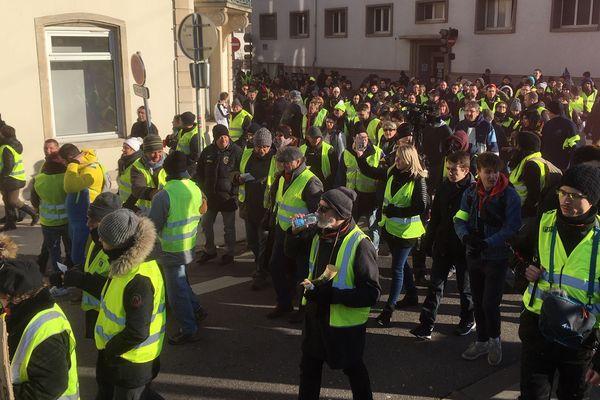Les gilets jaunes seront présents, à Nancy, ce samedi 13 avril. Une manifestation qui inquiète les syndicats de police.