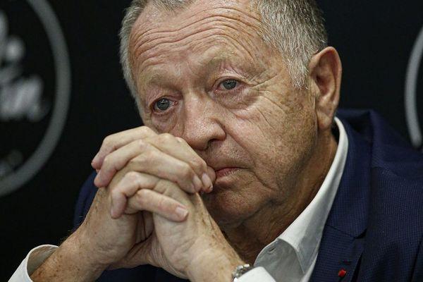 Le patron de l'Olympique Lyonnais Jean-Michel Aulas annonce deux recours contre la LFP après l'arrêt de la saison 2020 / 2021 de la Ligue 1 (image d'archives)