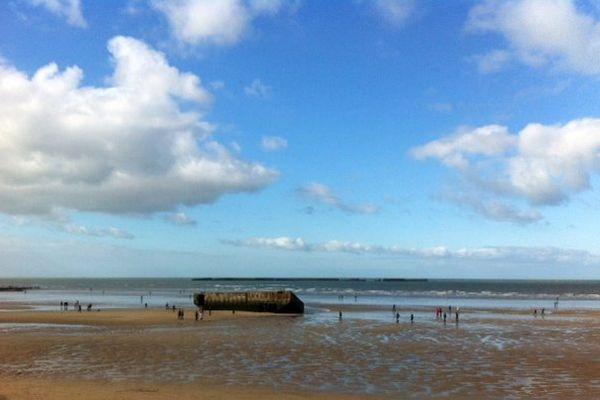 La marée a découvert certains pontons