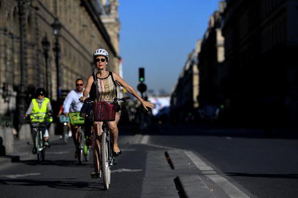 En 2020, la circulation à vélo a augmenté de 66% à Paris et de 54% en Île-de-France.