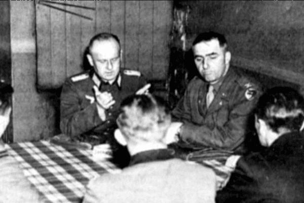 7 mai 1945 : signature à Etel de la reddition des Allemands de la Poche de Lorient