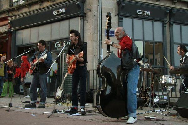 """""""Love rockabilly, contralove"""" fête de la musique à Limoges (2010)"""