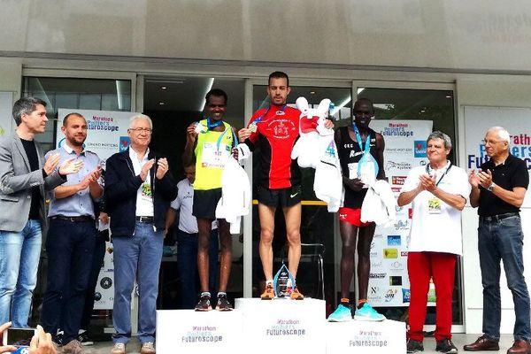 Alaa Hrioued vainqueur de la 14e édition du Marathon de Poitiers-Futuroscope