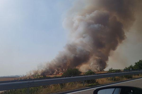 Plusieurs feux se sont déclarés ce mardi dans l'Oise