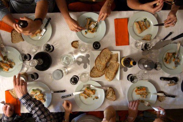 Le repas en France, c'est sacré !