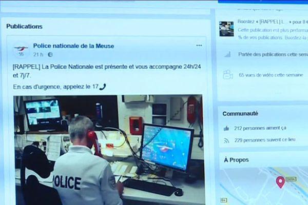 Une toute nouvelle page Facebook pour la Police 55