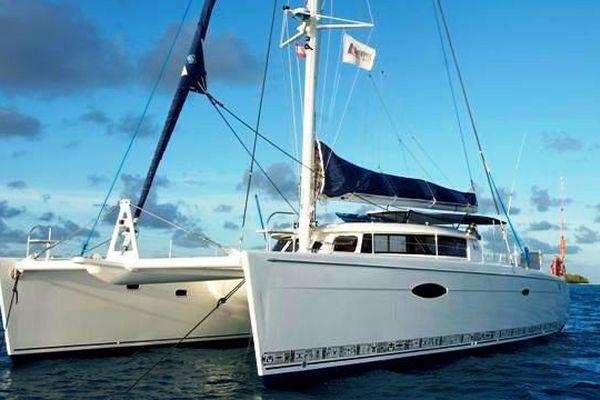 Le catamaran Fountaine Pajot Eleuthera 60