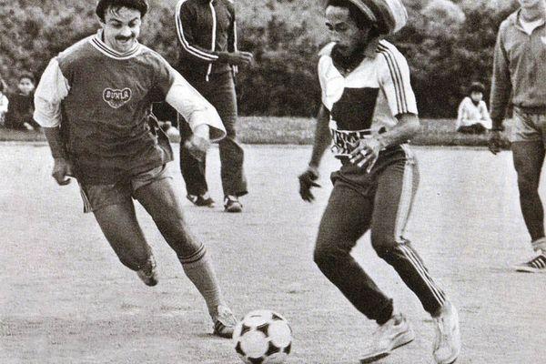 Gilles Rampillon face à Bob Marley, le 2 juillet 1980 à Nantes