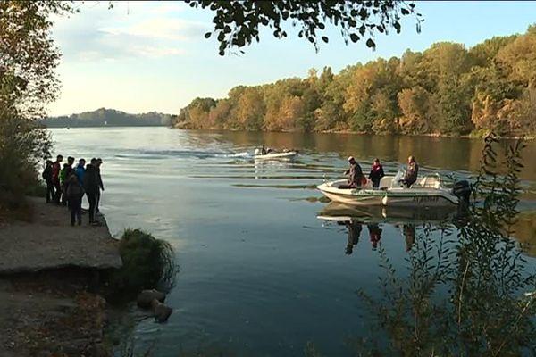 Challenge inter jeunes sur le fleuve Rhône