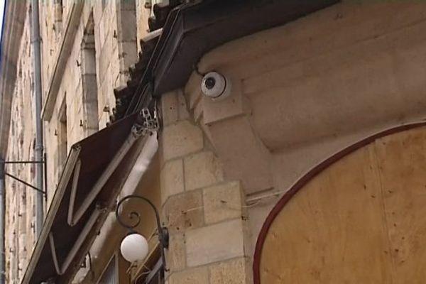 Une caméra de vidéoprotection dans le centre de Montluçon