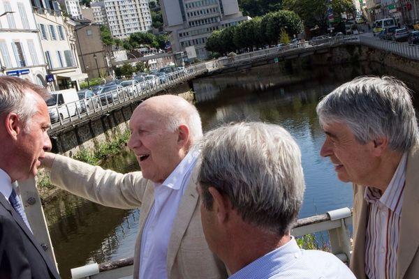 Michel Piccoli à Tulle en 2014