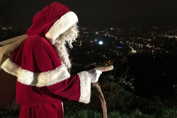 Le Père Noël débarque à Besançon
