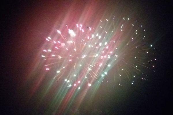 Le feu d'artifice de Brumath.