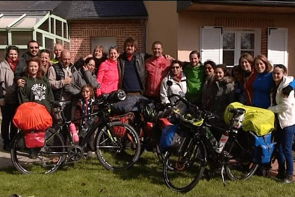 La famille Mattelin part autour du monde, le 1er mai 2017