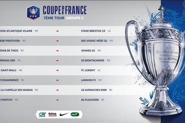 Coupe de France 7eme tour 2018