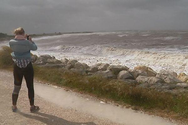 La tempête Miguel à La Rochelle.