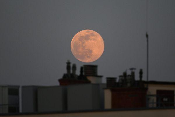 La super lune rose du 7 avril 2020