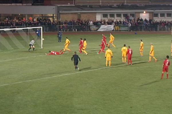 Le dernier but de Steenvoorde, à la dernière minute des prolongations.