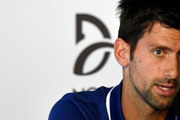 L'ancien numéro 1 mondial de tennis Novak Djokovic, le 26 juillet à Belgrade (Serbie)