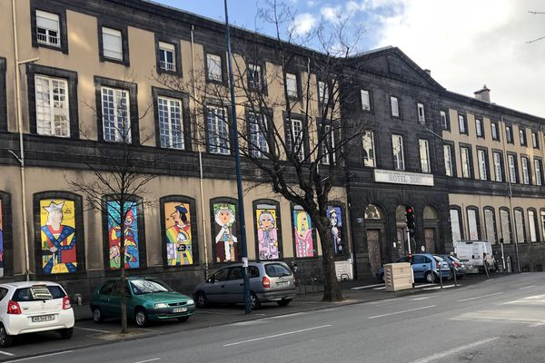 Le pavillon Dijon de l'ancien Hôtel-dieu de Clermont-Ferrand accueillera la nouvelle bibliothèque, tout en gardant des éléments architecturaux