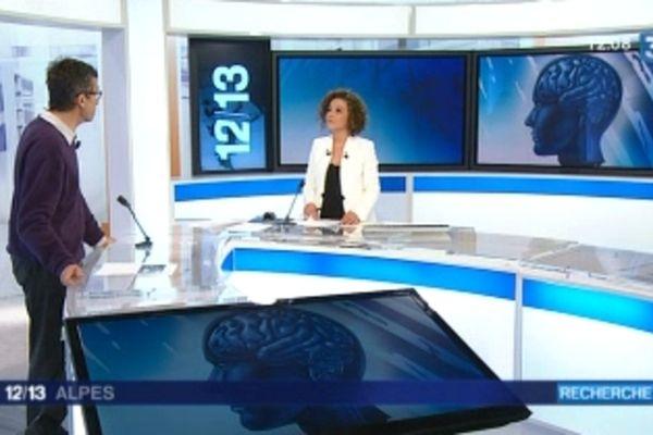 Invité de notre journal de midi, Antoine Depaulis, directeur adjoint de l'Institut des Neurosciences de Grenoble.