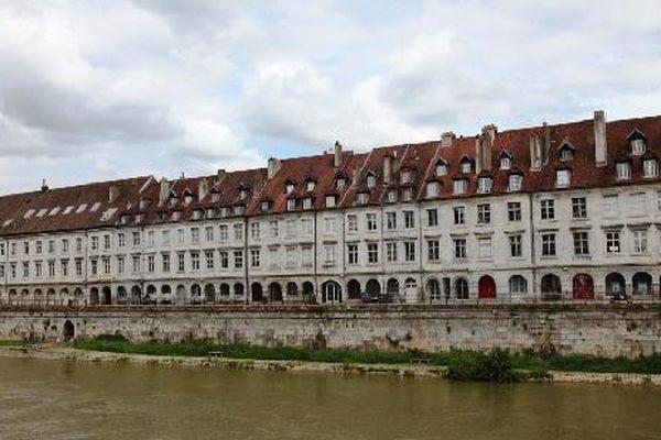 Le corps du jeune étudiant a été repêché dans le Doubs quai de Strasbourg