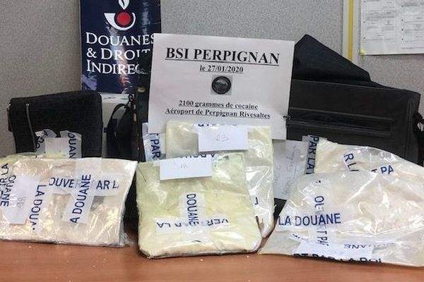 Pyrénées-Orientales : saisies de cocaïne à l'aéroport de Perpignan et de cannabis au Perthus - janvier 2020