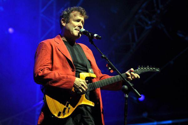 Johnny Clegg lors de son concert à Toulouse en 2010