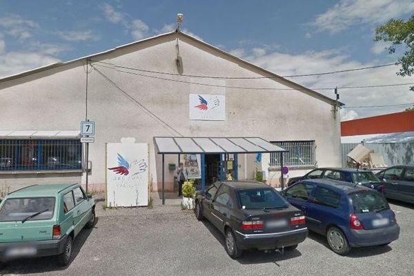 Le local du Secours populaire du Tarn-et-Garonne, à Montauban