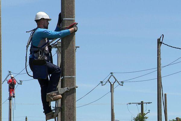 A Montmorillon, seule une dizaine de dossiers ont été déposés pour la formation de monteur réseaux alors qu'il y a 60 postes en alternance à pourvoir.