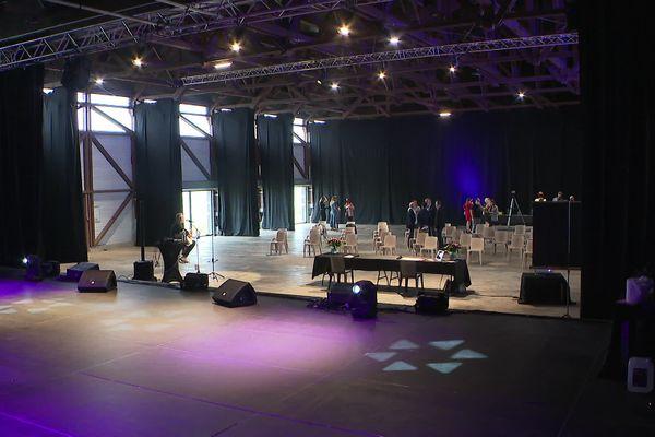 Le Hangar, la nouvelle salle de spectacle de Jacques Rousselot