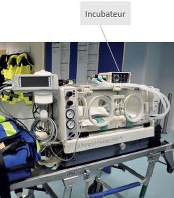 Découvrez ci-dessus à quoi ressemble l'incubateur dont seront dotées les équipes du SMUR sud-aquitain