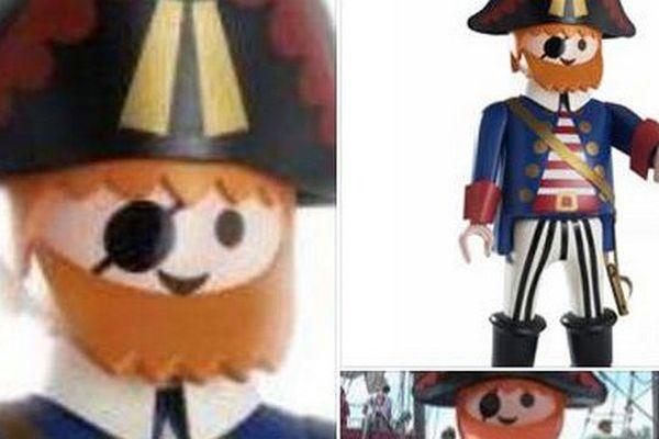 Les salariés du Joué Club de Brignoles lancent un appel à témoins, après la disparition samedi 28 mai, de leur mascotte, Pedro, un pirate Playmobil géant.