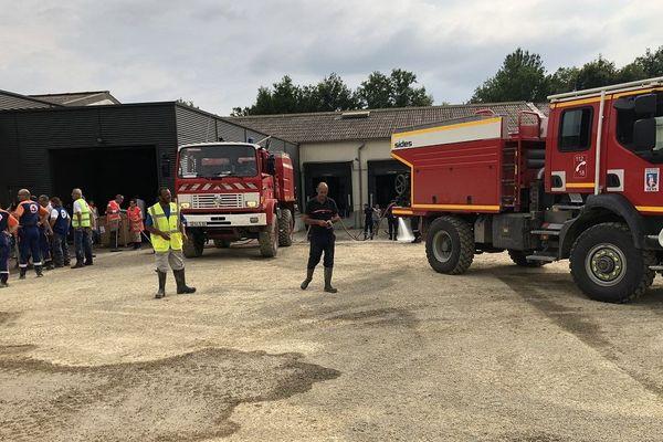 500 sapeurs-pompiers ont été mobilisés durant 48 heures.