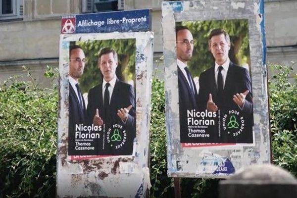 affiche de campagne pour le second tour