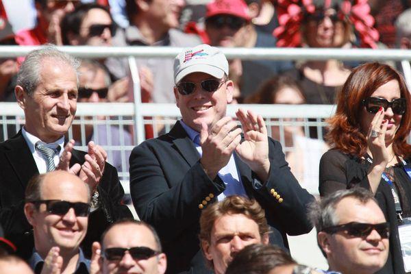 Le Prince Albert II s'est exprimé en marge du match de Top 14 RC Toulon - Clermont auquel il a assisté dimanche
