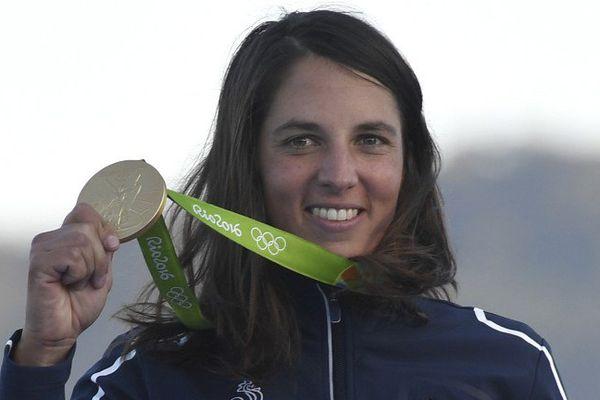La Charentaise-Maritime, Charline Picon, médaillée d'or aux JO de Rio