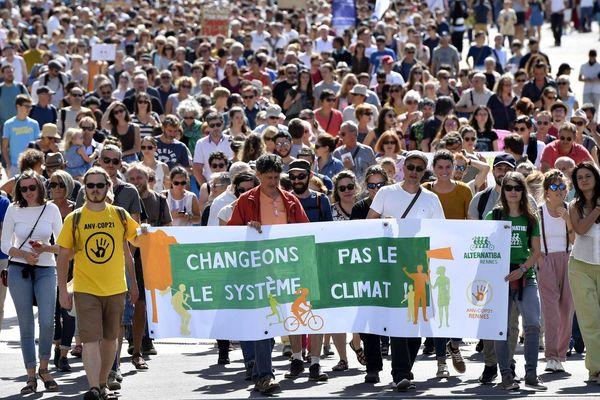 Le 8 septembre, entre 3 000 et 4 000 personnes avaient défilé dans les rues de Rennes pour la défense du climat.