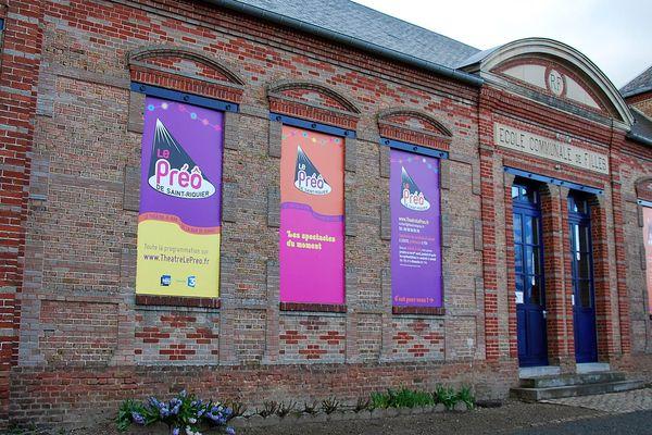 Le café-théâtre du Préô a été créé en 2014 dans les locaux de l'ancienne école de filles de Saint-Riquier.
