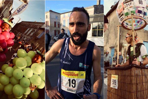 Khmais Abbassi (Racing Club Nantais, au centre) remporte la corrida de Magné en 30'54''
