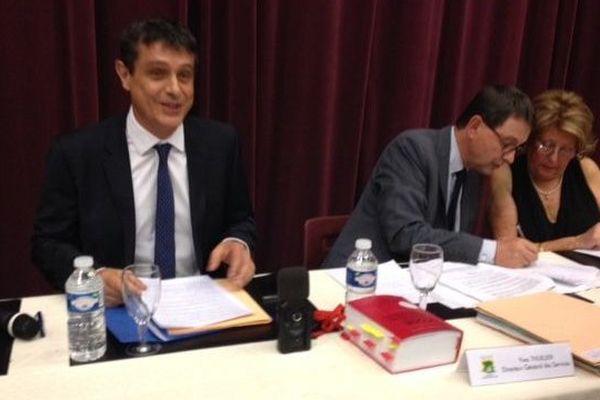 Frédéric Lacas maire de Sérignan élu président
