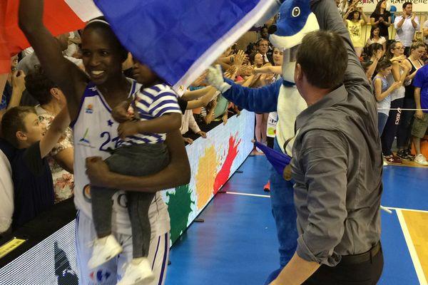 Lattes (Hérault) - les filles du BLMA Montpellier championnes de France - 15 mai 2016.