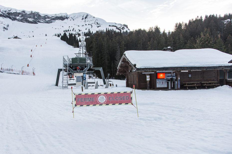 Lors des vacances de février, ce sont les stations d'altitude qui ont le plus souffert de la baisse de fréquentation