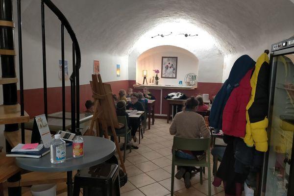 C'est un restaurant locavor qui a ouvert ses portes aux élèves de Saorge pendant la Covid-19 sur décision préfectorale