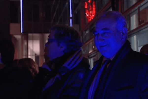 Georges Képénékian, premier adjoint de la ville de Lyon lors du lancement hier soir.