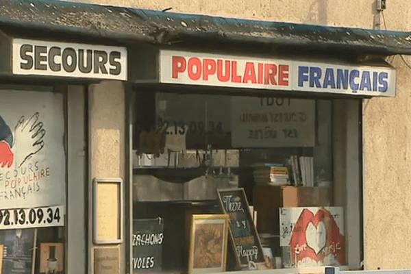 Le secours populaire 06 invite les auto-entrepreneurs à faire appel à eux. (local de Cagnes-sur-mer)
