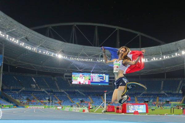 Les Jeux Paralympiques de Rio, avec trois médailles pour la championne du Loir-et-Cher